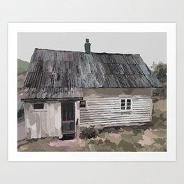 Ole's House Art Print