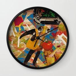 Roaring Defect Wall Clock