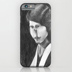 Victoriana Mustached Woman  iPhone 6s Slim Case