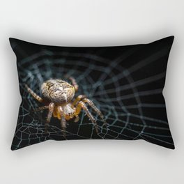 Spider on the web Rectangular Pillow