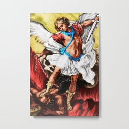 """Archangel Mondays"" Painting by Jeanpaul Ferro Metal Print"