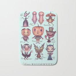 Happy Halloween! Bath Mat