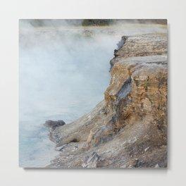 Deep hot spring  Metal Print