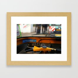 Being Male is Nature, Being a Man is Responsibility Framed Art Print
