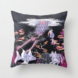 Deep Deep Down - New World Throw Pillow
