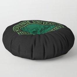 Miskatonic Historical Society Floor Pillow