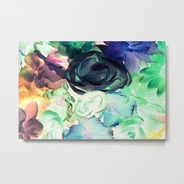 Flower Aura Metal Print