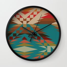 American Native Pattern No. 81 Wall Clock