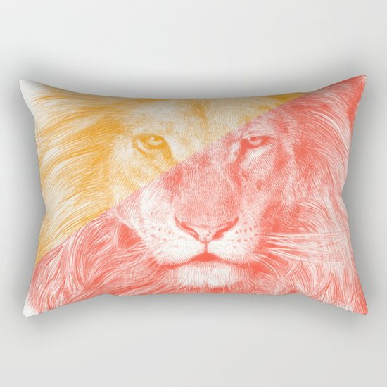 Wild 3 - by Eric Fan and Garima Dhawan Rectangular Pillow