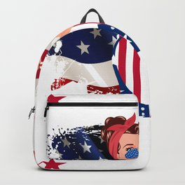 yes i am a biden girl get over it Backpack