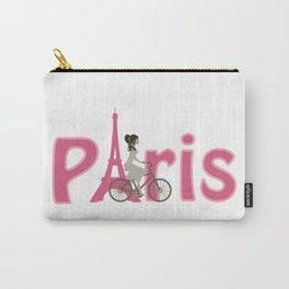 Paris-Bicyclette Carry-All Pouch