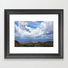 New Mexico Countryside  Framed Art Print