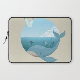 Whale & Seagull (US and THEM) Laptop Sleeve