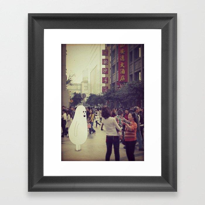 l o s t i n c h e n g d u Framed Art Print
