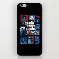 gta iPhone & iPod Skins featuring Doctor Who and GTA - Nerd Mix by MarcoMellark