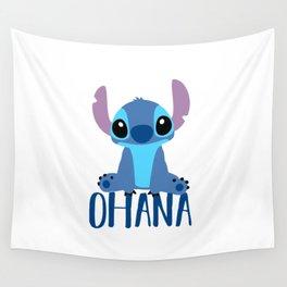 Stitch Ohana Wall Tapestry