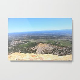 View from the top of Mesa Verde Metal Print