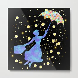Mary Poppins - The Magical Nanny Metal Print