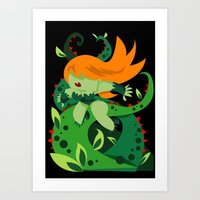 poison ivy Art Prints featuring Poison Ivy by Shane Jones