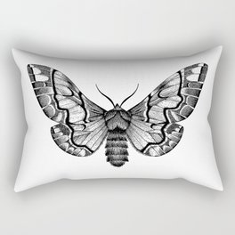Endromis versicolora Rectangular Pillow