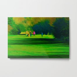 A walk in the park (Digital Art) Metal Print