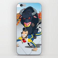 Bullfighter iPhone & iPod Skin