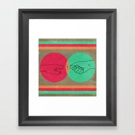 Pull your finger out  Framed Art Print