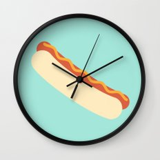 #35 Hotdog Wall Clock