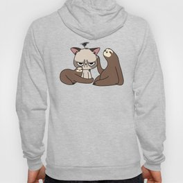 A Hug a Day Keeps the Grumpiness Away Hoody