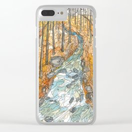 Eno River 39 Clear iPhone Case