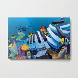Underwater - Island Ivories Metal Print