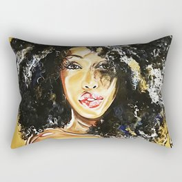 black girl magic Rectangular Pillow