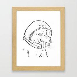 Princess Revolver Framed Art Print