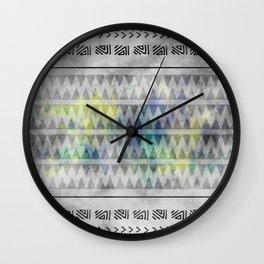 ETHNO PATTERN Funky Wall Clock