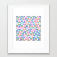 geo Framed Art Prints featuring GEO by Isabella Salamone