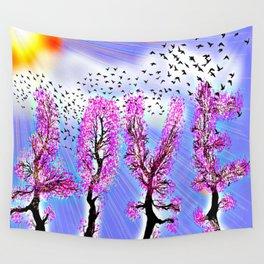 AS LOVE BLOSSOMS - 051 Wall Tapestry