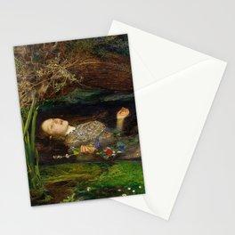 Ophelia, John Everett Millais Stationery Cards