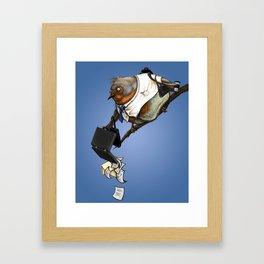 workbird Framed Art Print