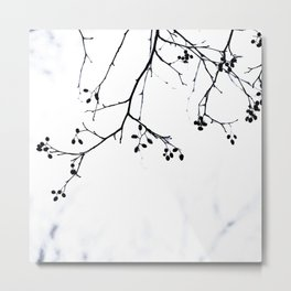 Winter Silhouettes 4 Metal Print