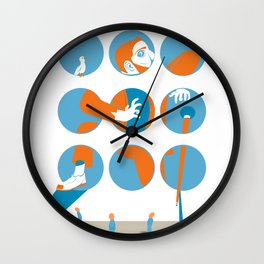 everybody is waiting just for you Wall Clock