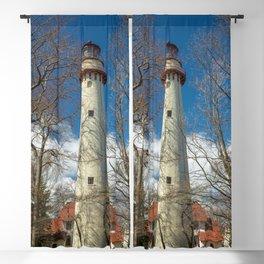 Gross Point Lighthouse Evanston Illinois Lake Michigan Blackout Curtain