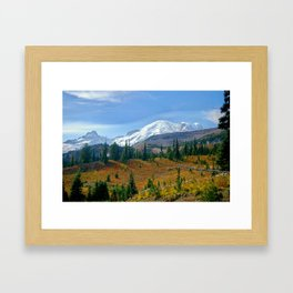 Mt. Rainier fine art print Framed Art Print