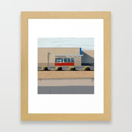 Drive-thru Framed Art Print