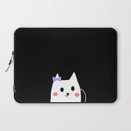cat chewing gum-24 Laptop Sleeve