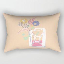 floral fuel Rectangular Pillow