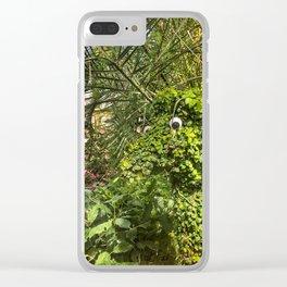 Topiary Giraffe Clear iPhone Case