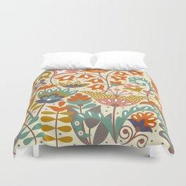 Forest flowers Duvet Cover