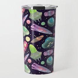 funny UFO Travel Mug