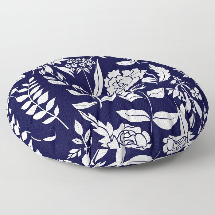 Floral design Floor Pillow