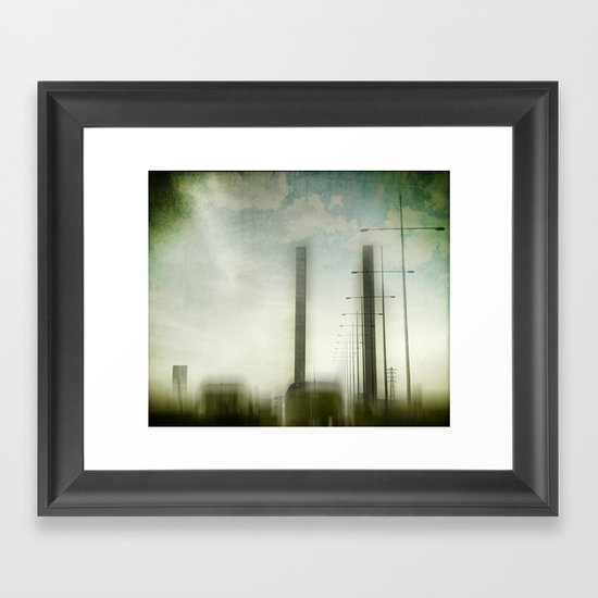 rush hour Framed Art Print